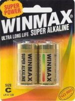 WinMax Extra Alkaline C Battery - 2 Pack