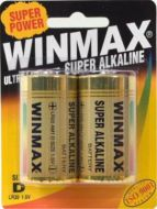 WinMax Extra Alkaline D Battery - 2 Pack